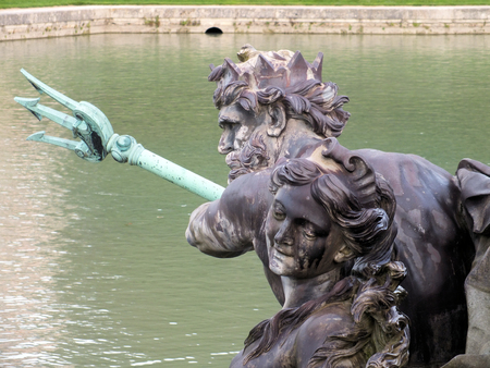 The sculpture of Neptune is the centrepiece of Neptune photo