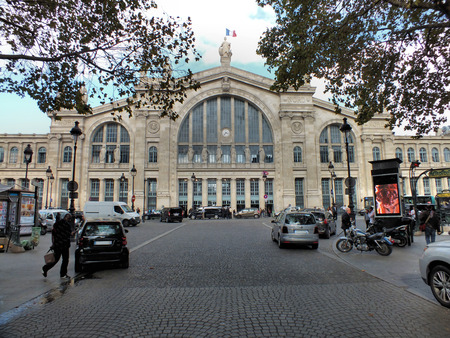 eurostar: The Gare du Nord is the station for trains to Northern France, Belgium, Germany, the Netherlands and the Eurostar service to London  The station built between 1861 and 1864 to a design by the French architect Jacques Hittorff