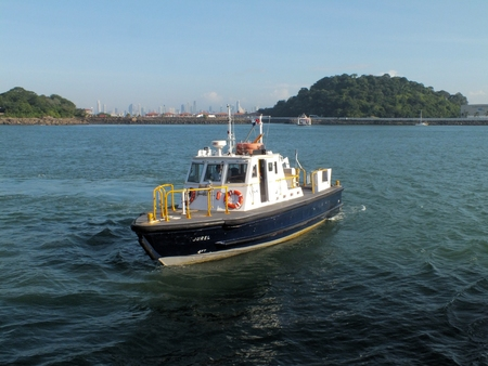 obliged: All vessels transiting the Panama Canal are obliged to carry a licenced Pilot employed by the Panama Canal Company. He is responsible for the safe passage of the vessel through the canal and is dropped off and picked up by a pilot boat.