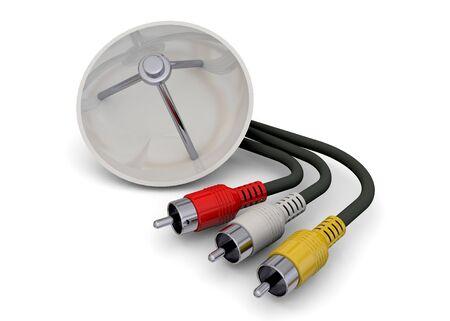antena parabolica: Video Cable y antena parabólica