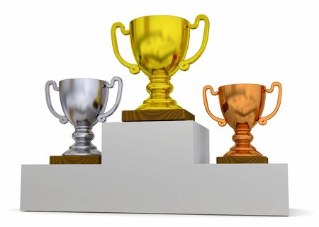 classification: Classification Cup on white background