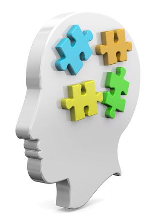 psyche: Pedazo de rompecabezas de la mente