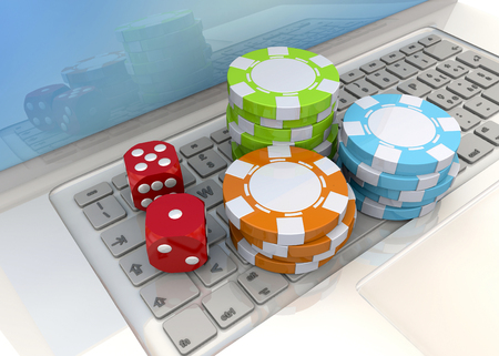 mania: Poker Chips on the computer