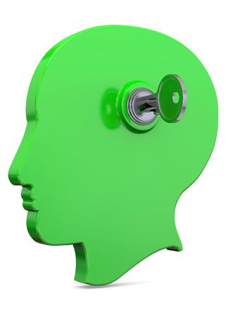 A key opens the head