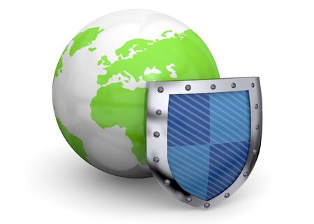 safe world: One Shield defends the world