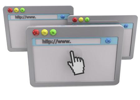 3D browser Imagens