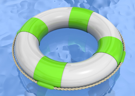 life buoy: Life Buoy on the Water