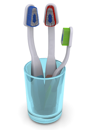 Toothbrush - 3D Imagens
