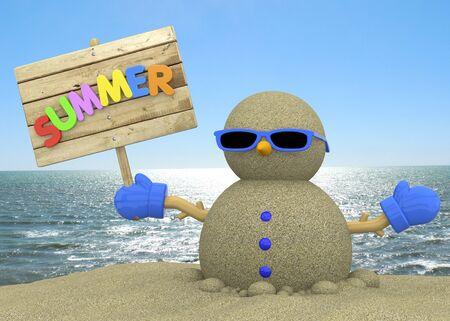 voyager: Sandman On The Beach 3D