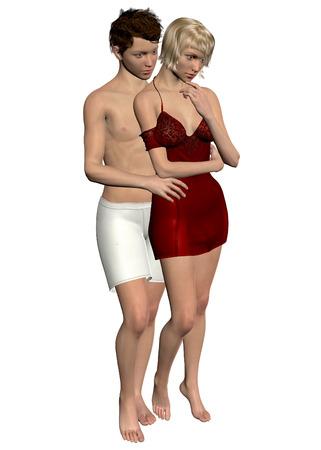 Love Between boy and girl Imagens
