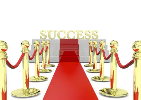 Success on Red Carpet 3D