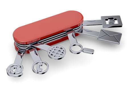 boxcutter: Swiss boxcutter and tecnological icon