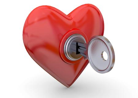 Open Your Heart 3D Imagens