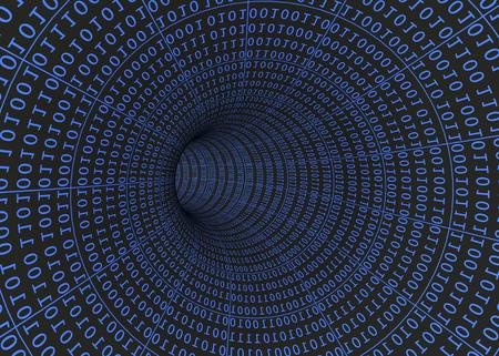 codigo binario: Números binarios y Túnel Digital