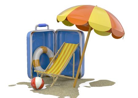 Summer On The Beach 3D