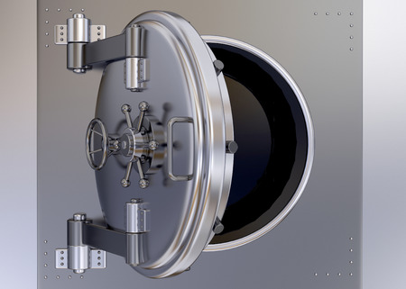 armoured: Armoured Safe in render 3d