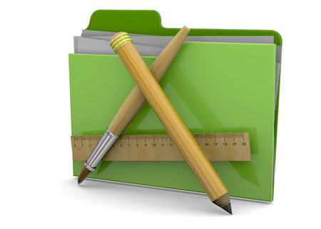 Application Folder on white background