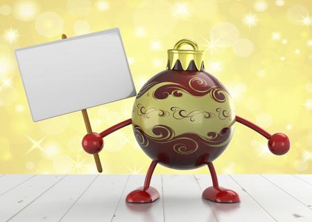 Christmas Ball - 3D