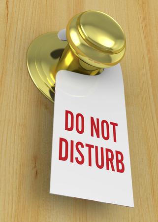 Do not disturb 3D Imagens