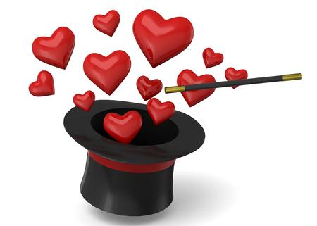 Magic Love 3d concept