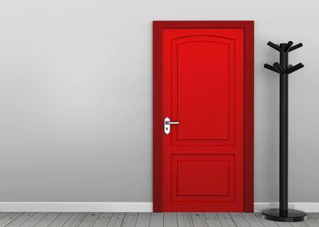 Red door 3d