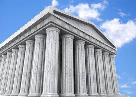 Ancient Greek Temple - 3D