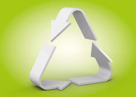 The Recycle Icon - 3D Imagens