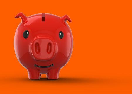 Pig Coin Bank - 3D