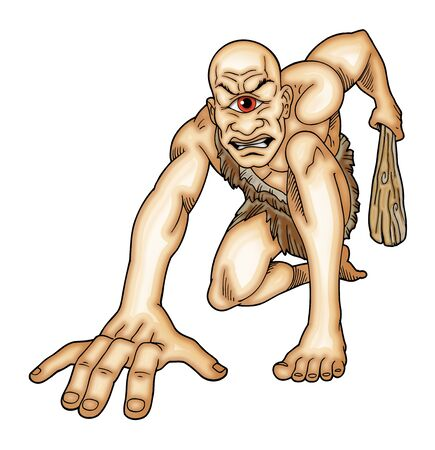 titan: Cyclops Stock Photo