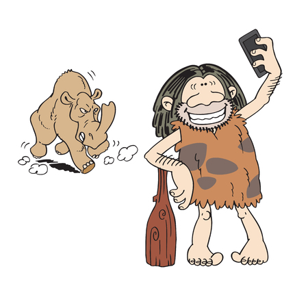 careless: Dangerous selfie