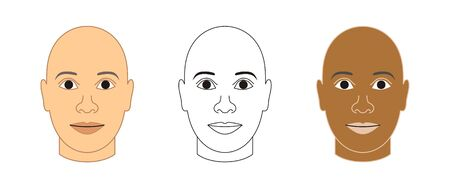 generic face Reklamní fotografie
