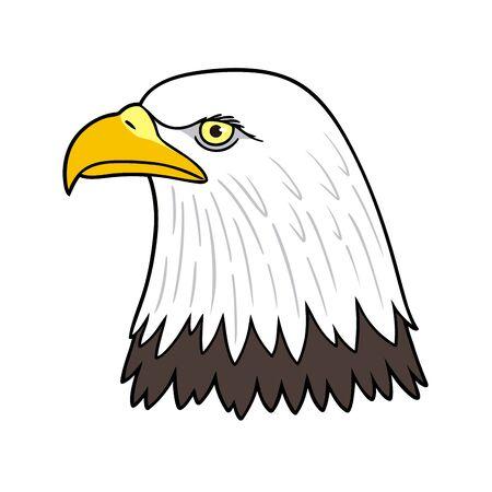 american bald eagle head Reklamní fotografie