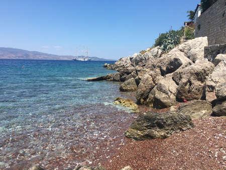 Hydra Greece Sea