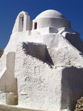 myconos: Church Stock Photo