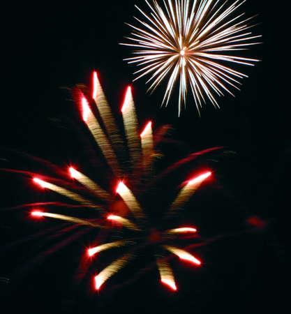 fuochi d'artificio Archivio Fotografico