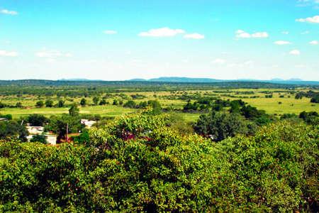 outdoor grazing lands
