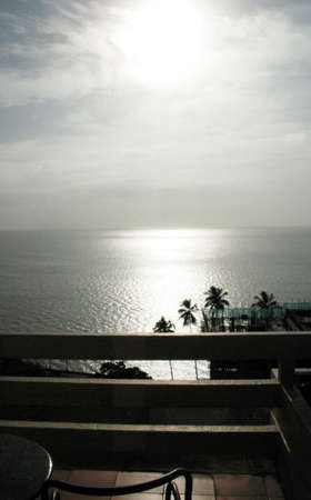 Seaside view, Indian Ocean, Mozambique