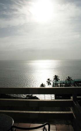 Vista mare, Oceano Indiano, Mozambico Archivio Fotografico