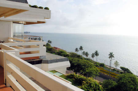 Seaside view, Oceano Indiano, Mozambico  Archivio Fotografico