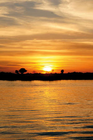 Sunset in Kasane Botswana
