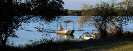Boating safari