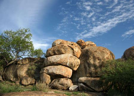 La grotta di collina