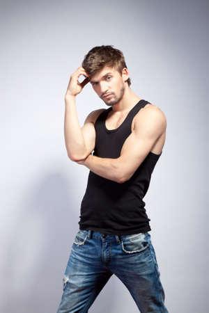 t shirt man: fashion man