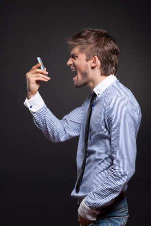 annoyance: screaming phone