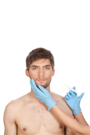 plastic glove: plastic surgery