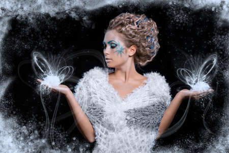 Ice Queen Banque d'images