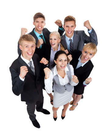 company job: group of business people Stock Photo