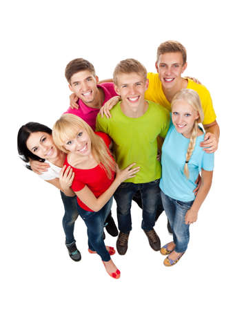 group of young people Stock Photo - 15486993
