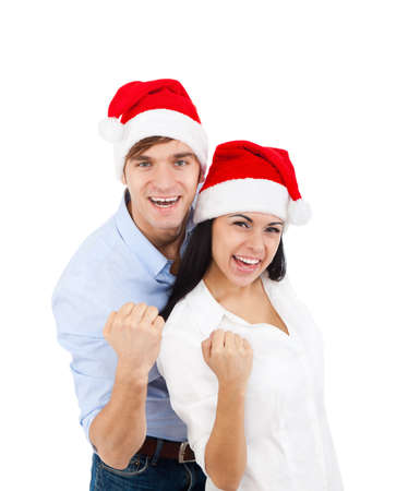Christmas couple Stock Photo - 16638201
