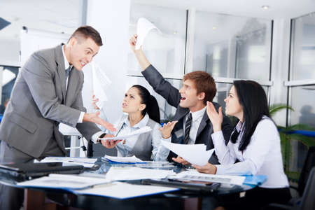 Business people Stock Photo - 16638159